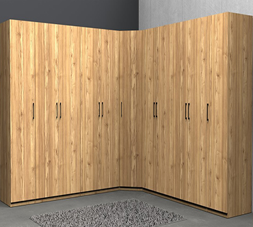 Угловой шкаф купе «Олаф»